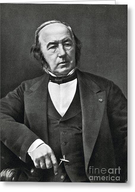 Objectivity Greeting Cards - Claude Bernard, French Physiologist Greeting Card by Photo Researchers