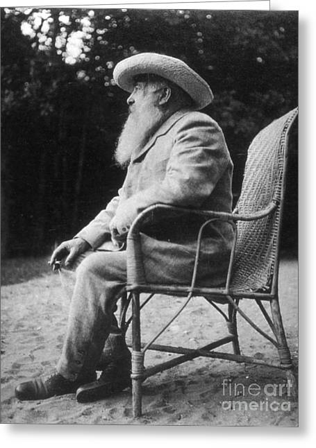 Claude Monet (1840-1926) Greeting Card by Granger