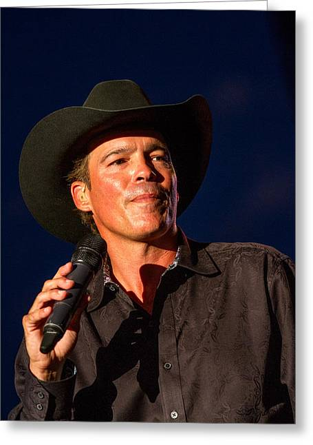 Clay Walker Concert Greeting Card