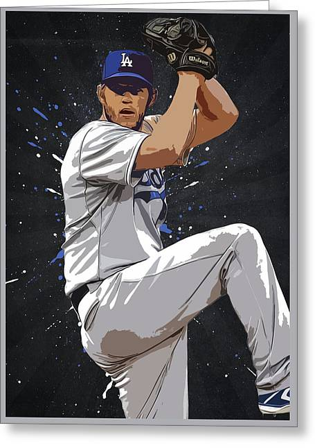 Clayton Kershaw Greeting Card