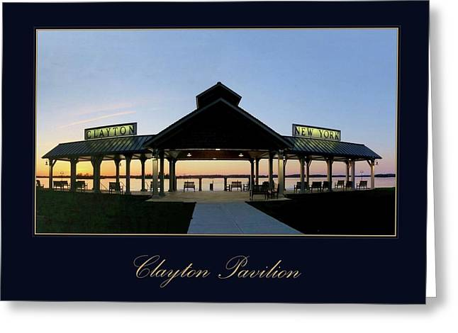 Clayton Pavilion Greeting Card