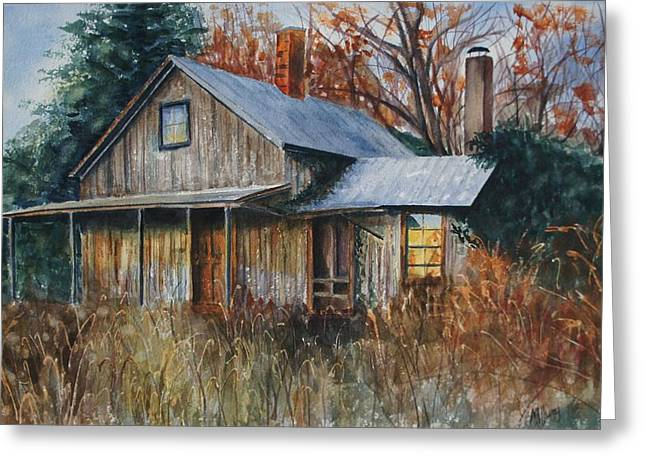 Clayton's Place Greeting Card by Mary Jo Jung