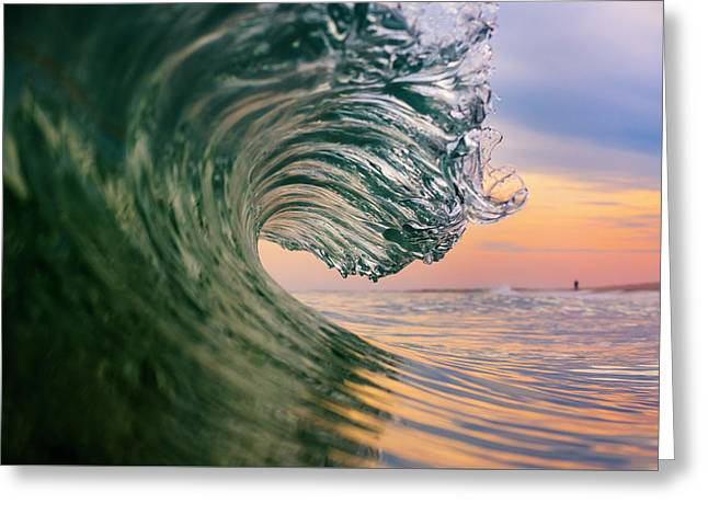 Clean Wave Greeting Card