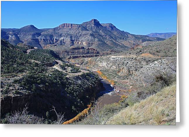 Clear And Rugged Greeting Card by Gary Kaylor