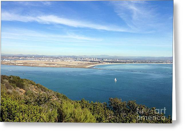 Clear Blue Sea Greeting Card