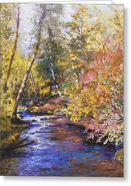 Clear Creek Greeting Card