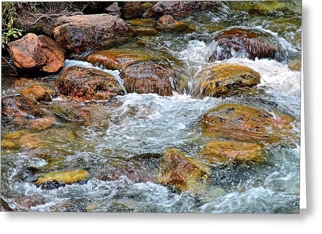 Clear Mountain Stream Greeting Card