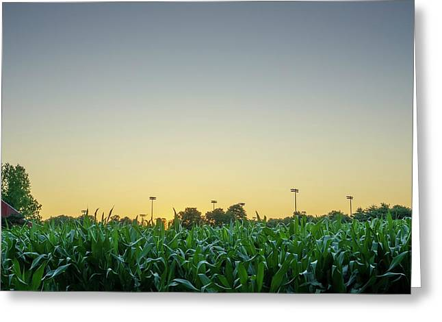 Clear Skies Sunset Greeting Card