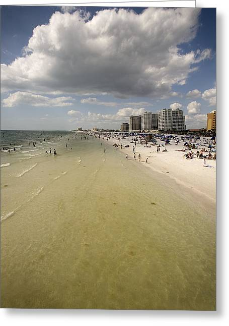 Clear Water Beach II Greeting Card by Patrick Ziegler