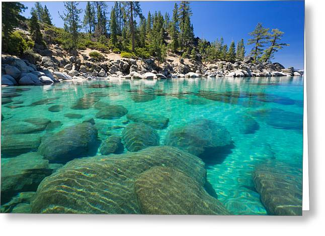 Clear Water Greeting Card
