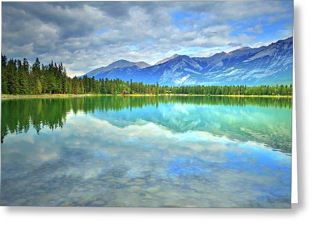 Greeting Card featuring the photograph Clear Waters At Lake Annette by Tara Turner