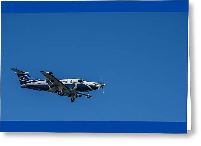 Cleared To Land Greeting Card by Marvin Spates