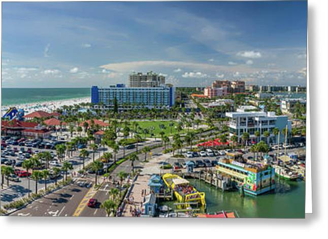 Greeting Card featuring the photograph Clearwater Beach Florida by Steven Sparks