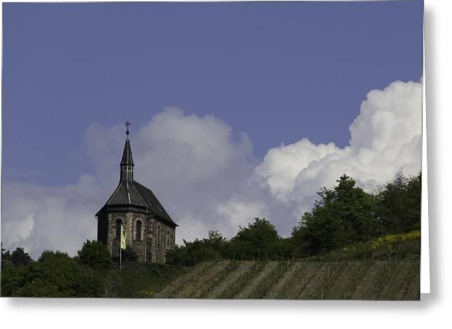 Clemenskapelle 02 Greeting Card by Teresa Mucha