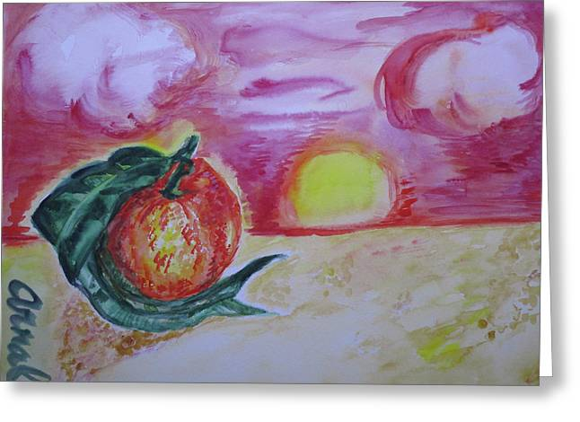 Clementine 52 Greeting Card by Lm Arnal