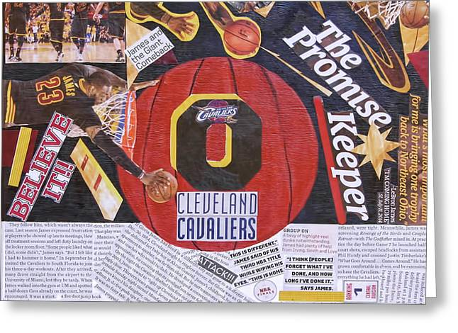 Cleveland Cavaliers 2016 Champs Greeting Card