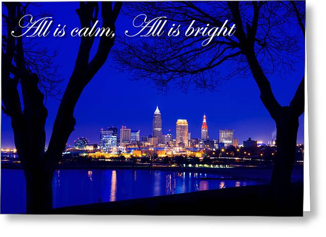 A Cleveland Christmas Greeting Card