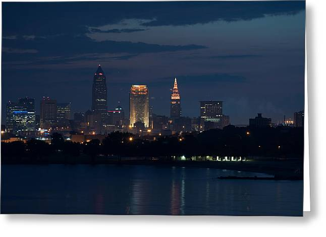 Cleveland Reflections Greeting Card