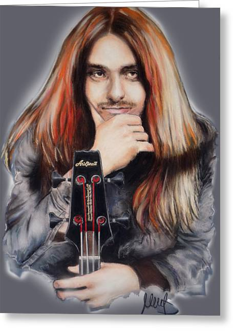 Cliff Burton Greeting Card