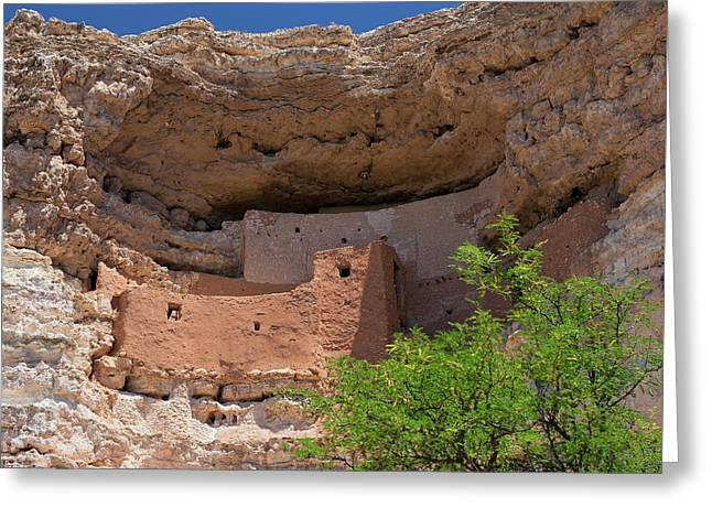 Cliff Dwellings Greeting Card