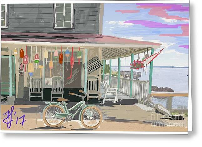 Cliff Island Store 2017 Greeting Card