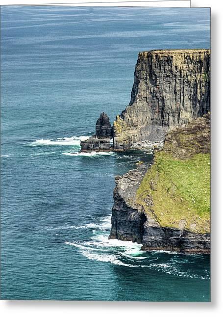 Cliff Of Moher 11 Greeting Card by Douglas Barnett
