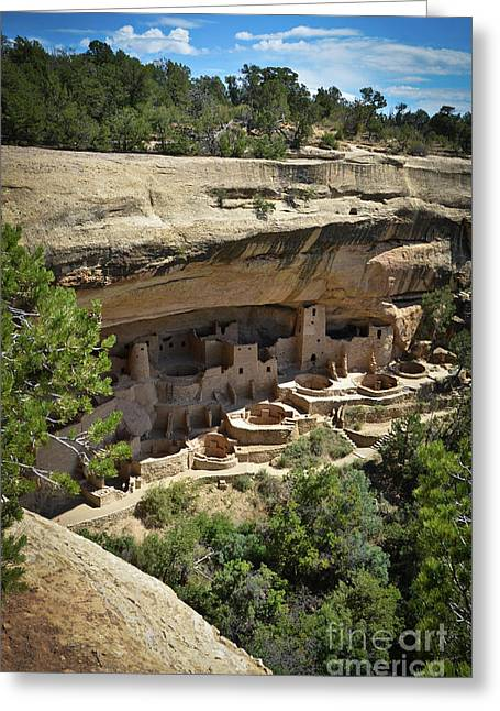 Cliff Palace Greeting Card