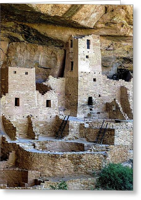 Cliff Palace Mesa Verde Greeting Card