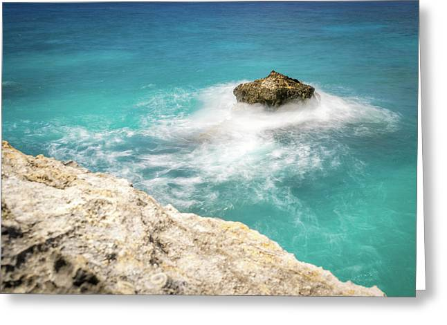 Cliff Views In Negril Greeting Card