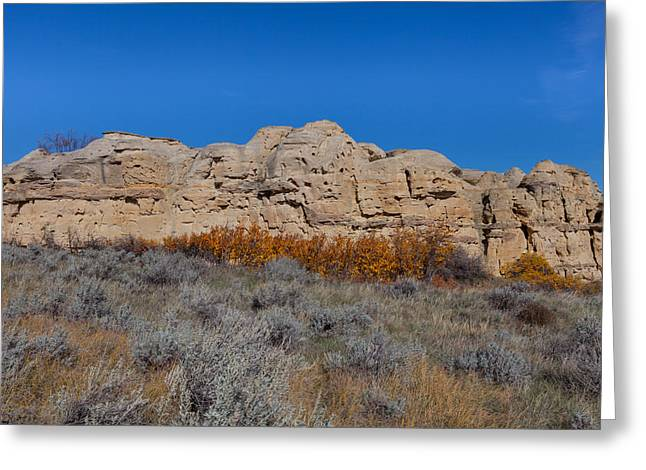 Greeting Card featuring the photograph Cliffs Of Hoodoos by Fran Riley
