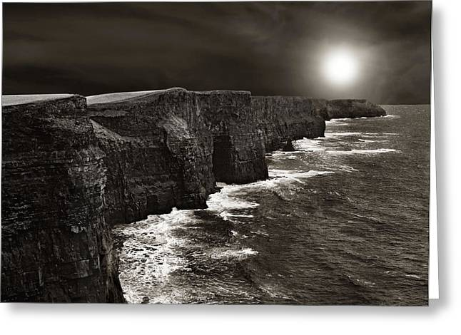 Cliffs Of Moher No. 2 Greeting Card