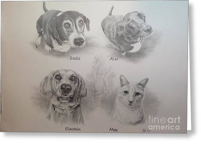 Cline Pets Greeting Card
