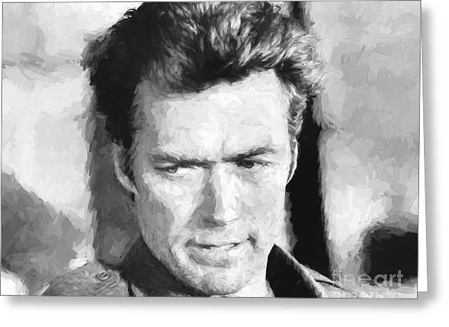 Clint Eastwood In Kelly's Heroes Greeting Card