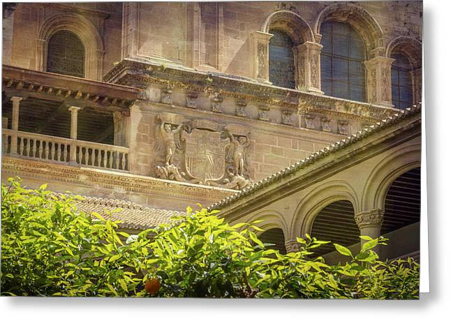 Cloister Angles Greeting Card