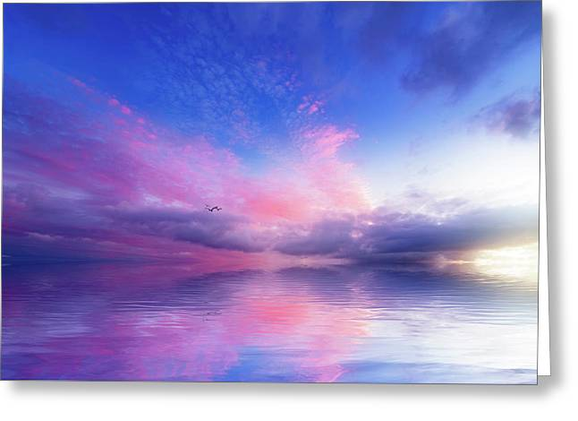Close To Infinity Greeting Card by Philippe Sainte-Laudy