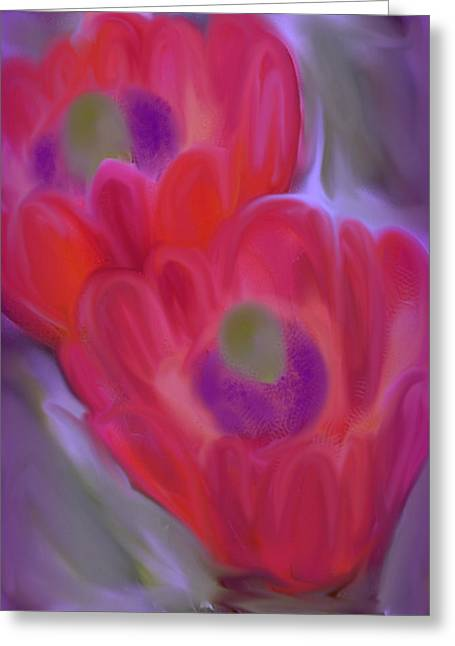 Close Up Beauty Greeting Card by Vickie Judkins