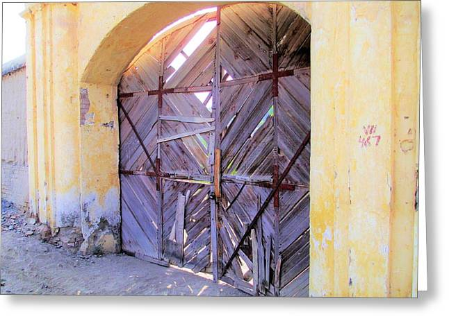 Closed, Permanently. Greeting Card
