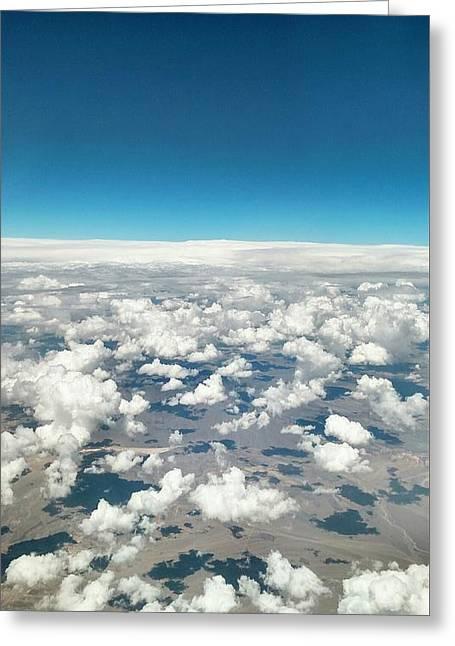 Cloud #9 Greeting Card