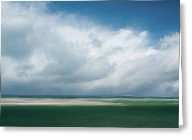 Cloud Bank Over Chatham Greeting Card