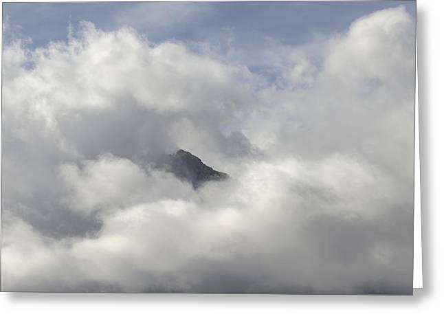 Cloud Cover Greeting Card by Joseph Smith