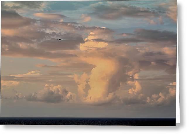 Cloud Dance Greeting Card
