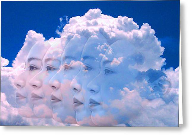 Cloud Dream Greeting Card by Matthew Lacey
