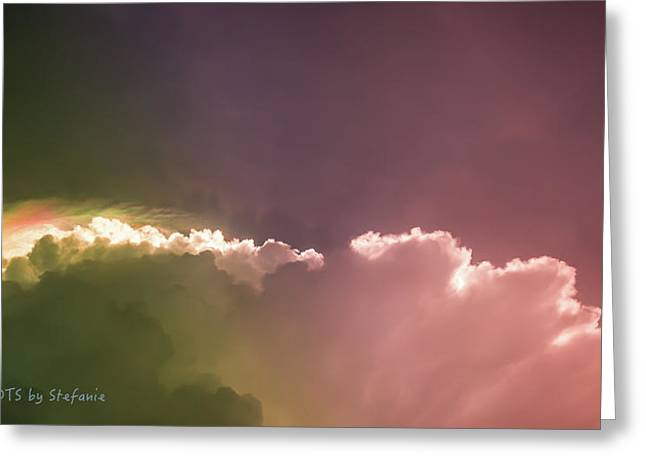 Cloud Eruption Greeting Card