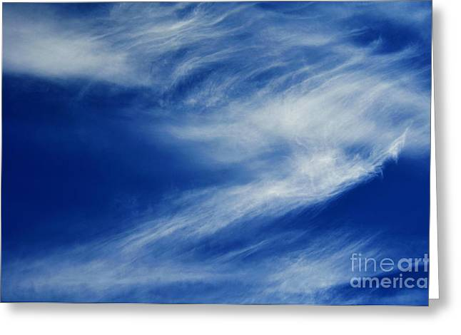 Cloud Formations Greeting Card by Clayton Bruster