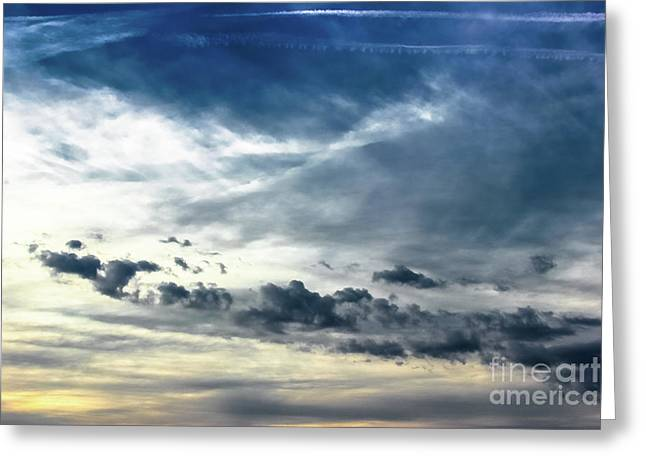 Cloud Movements Greeting Card