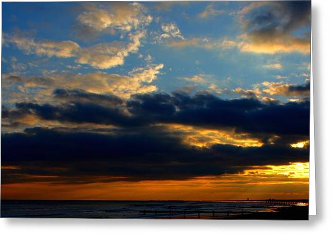 Cloud Party Greeting Card by Kevin  Sherf
