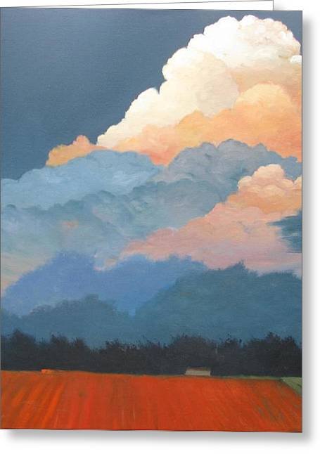 Cloud Rising Greeting Card