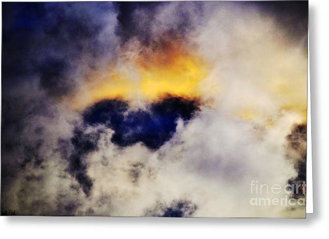 Cloud Sculping Greeting Card by Clayton Bruster