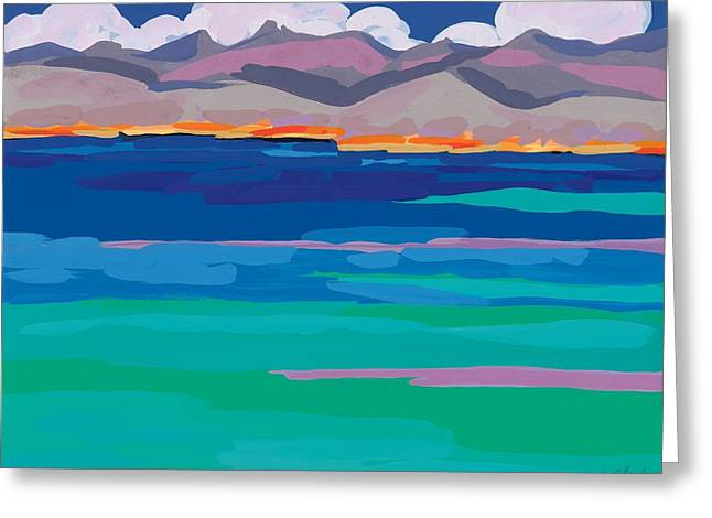 Cloud Sea View Greeting Card by Sarah Gillard