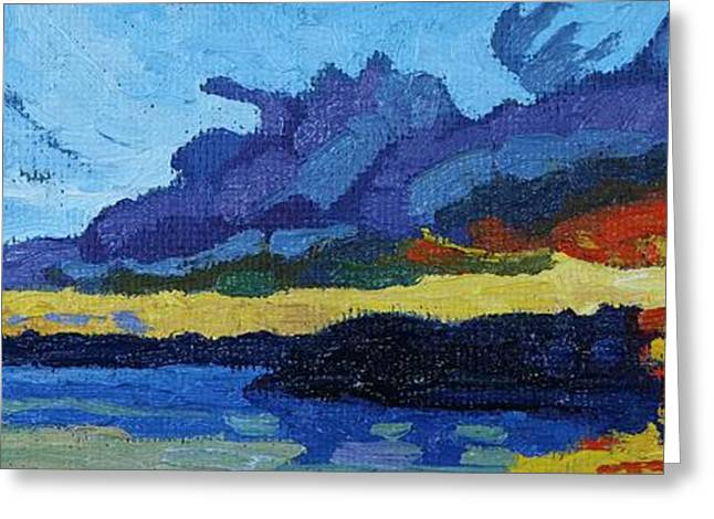 Cloud Street Sunset Greeting Card by Phil Chadwick